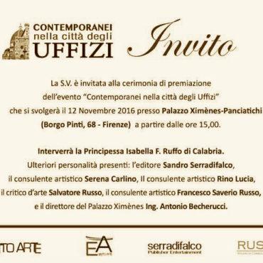Contemporanei Uffizi Invito
