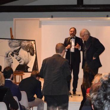 Prof. SGARBI - conferenza vernissage L'ARTE CONTEMPORANEA IN VILLA