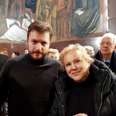 Marina Taroni con Daniele Radini Tedeschi