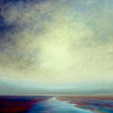 Marina Taroni - TRASMUTAZIONE - olio su tela - cm 120 x 100